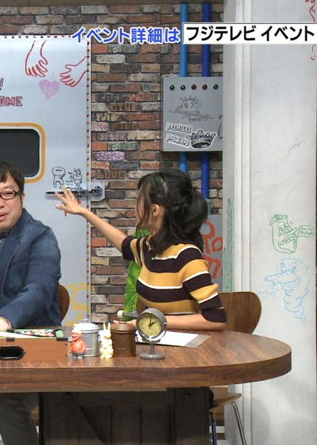【着胸エロ画像】ニットで明確wTV出演差たちの着衣おっぱいの格差社会(;´Д`)