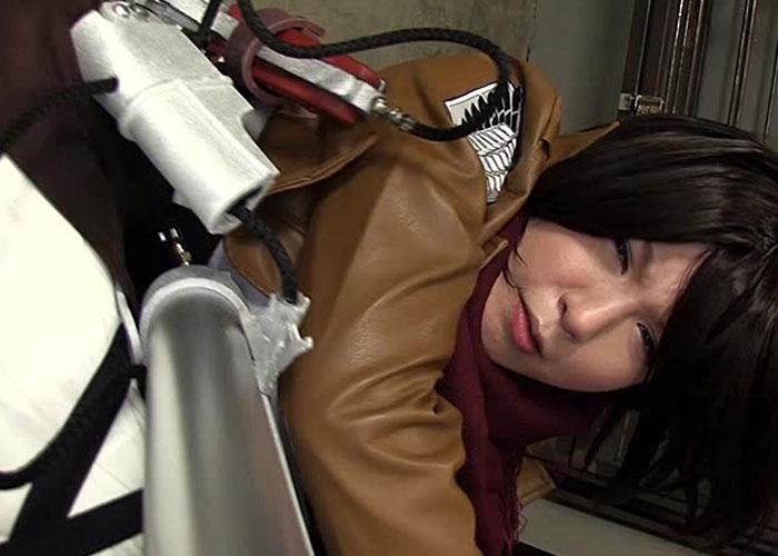 【エロ動画】エレンごめん…鬼畜アナル調教に屈したミカサの末路(;゚∀゚)=3