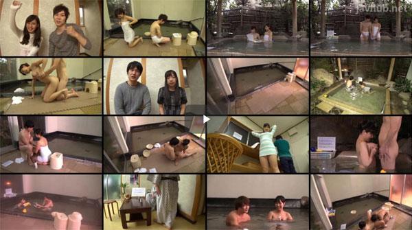 【エロ動画】友情>賞金ゆえにw露天風呂でヤッちまった巨乳女子大生(*゚∀゚)=3 03
