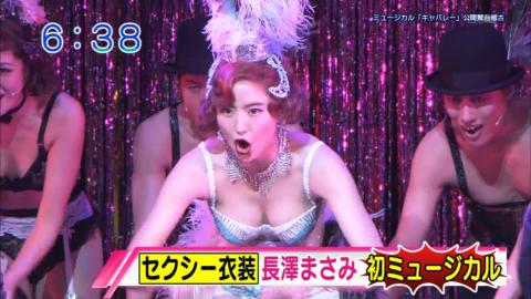 【衝撃】長澤まさみ(29)の恥ずかしい画像…完全にストリップ、これ…