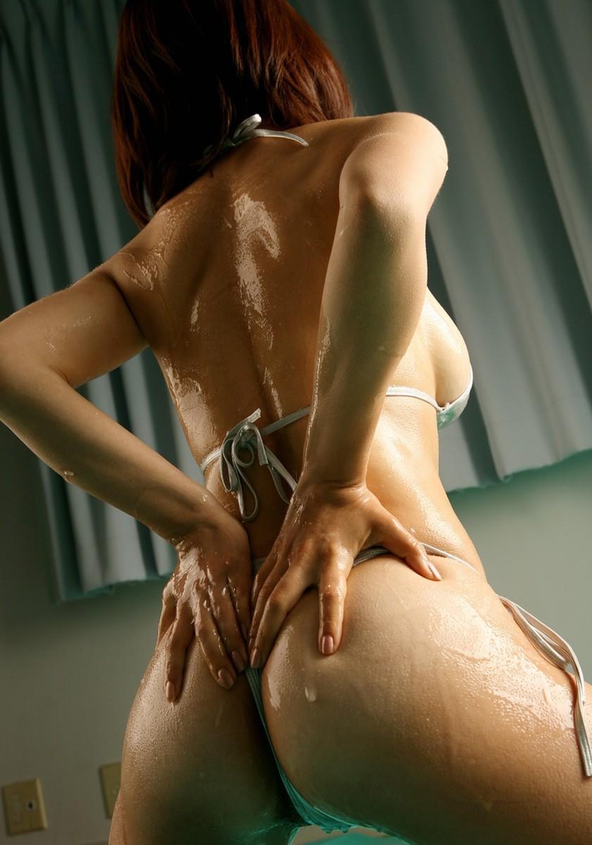 【ローションエロ画像】ヌルヌルに塗れて卑猥度激増のローション女体(*´Д`)