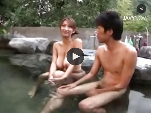【エロ動画】温泉旅館での不貞行為に燃え上がった爆乳すぎる美熟女(*゚∀゚)=3 03