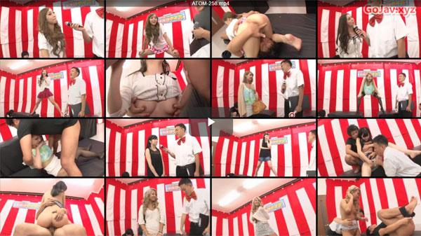 【エロ動画】落ちたら公開凌辱!賞金賭けて素人ギャルが股裂きクイズに挑戦(*゚∀゚)=3 03