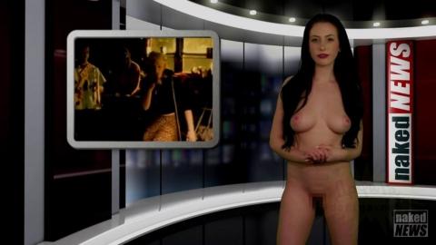 全裸女子アナ「隠すことは何もありません」⇒海外のニュース番組が想像の斜め上www