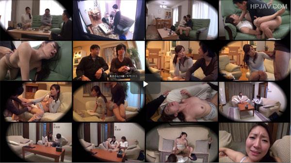 【エロ動画】近所の学生と2人っきりになったらヤッちまったスケベ奥様たち(;゚∀゚)=3 03
