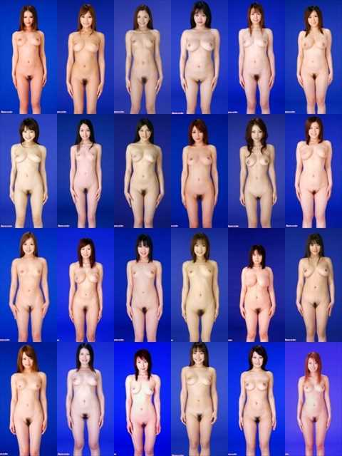 AV女優の全裸ヌード直立図鑑が完全に性奴隷カタログになっている…(画像あり)