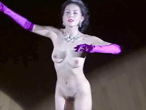 【ヌード画像】杉本彩、乳首もヘアも丸出しで恥辱の裸踊り…これが伝説の全裸社交ダンス…