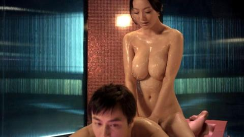 【ヌード画像】モンゴルの乳神・王李丹(ワン・リー・ダン)の全裸騎乗位セックス画像!
