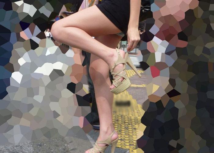 【美脚エロ画像】まだまだ世間には美脚成分が足りない!求むムッチリ太もも(;´Д`)