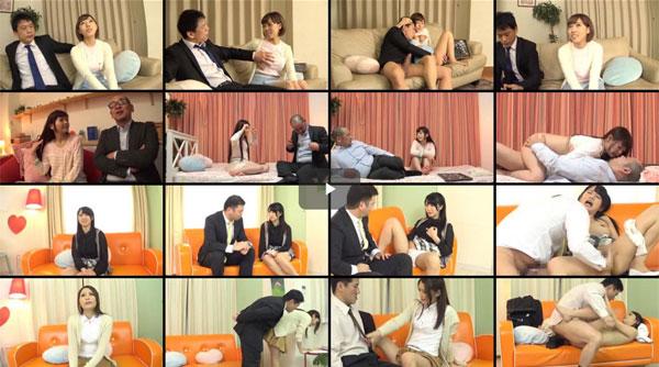 【エロ動画】親子で何を…賞金のためなら父の上にも跨れる変態娘たち!(*゚∀゚)=3 03