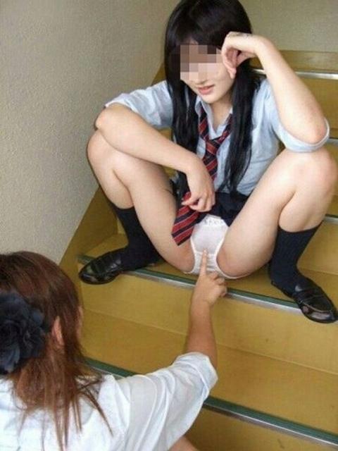 女の子がふざけて撮ったパンチラがぐうシコ