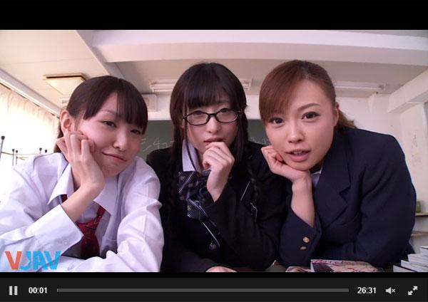 【エロ動画】真面目な男子を生足で誘惑してヤッちゃう痴女JK!(*゚∀゚)=3 03