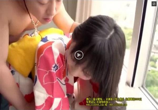 【エロ動画】浴衣を乱してイヤらしくイキまくる美少女のセックス!(;゚∀゚)=3 03