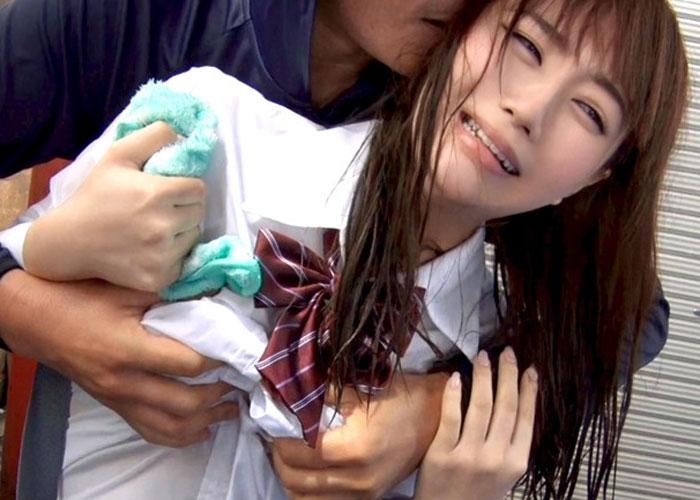 【エロ動画】嫌だった筈なのに痴漢車両に嵌っていた美少女JK!(*゚∀゚)=3 01