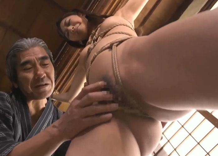 【エロ動画】ドSな義父の緊縛調教で変えられていく美人妻!(*゚∀゚)=3