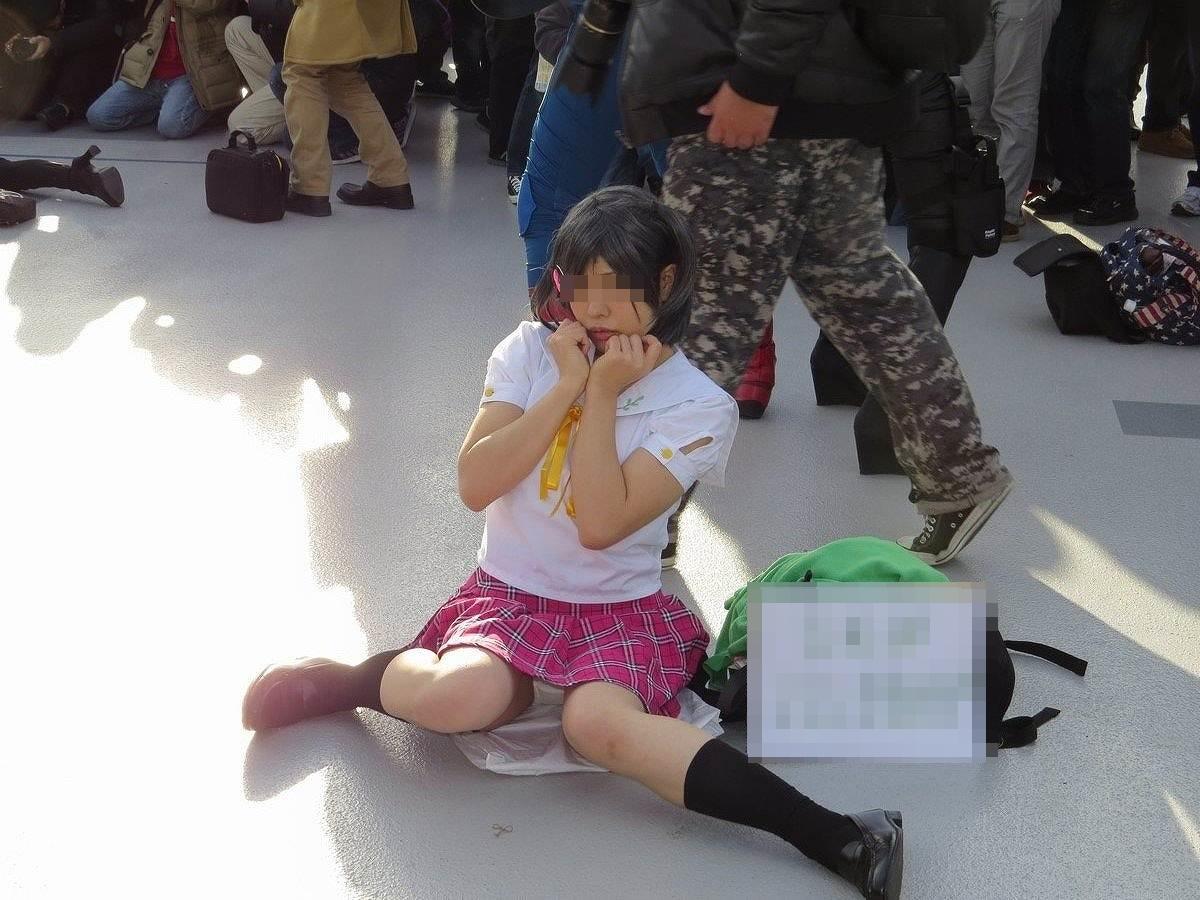 【コスプレエロ画像】見せOKでもパンツだ!コスプレイヤー達のおパンツ拝見(;´Д`)