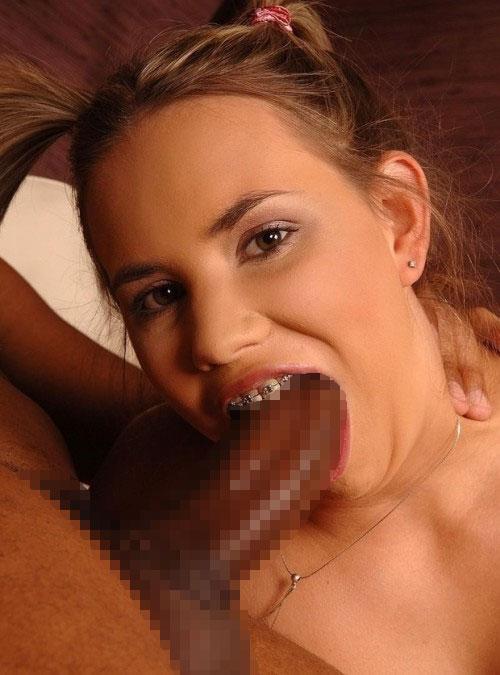 【口淫エロ画像】(※玉ヒュン注意)どうか優しく…噛んではいけないフェラチオ(゜ロ゜ノ)ノ