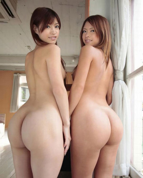 【巨尻エロ画像】西洋には負けてない!アジア女子たちの丸くてデカい生ヒップ(;゚Д゚)