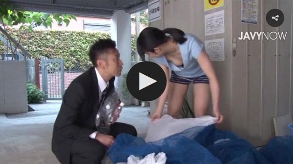 【エロ動画】ノーブラでゴミ出しに行ったら寝取られた美人妻!(;゚∀゚)=3 03