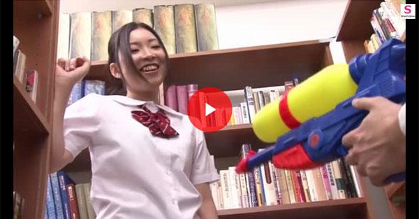 【エロ動画】撃てばハイレグコマネチ女になる光線銃…なにそれ怖い(*゚∀゚)=3 03