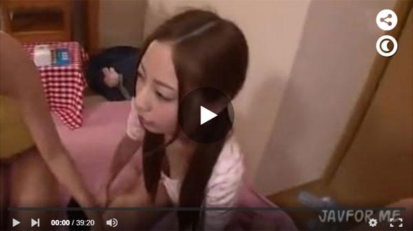 【エロ動画】妹含めたスケベなJK4人が何発も中出しを求めるから…(*゚∀゚)=3 03