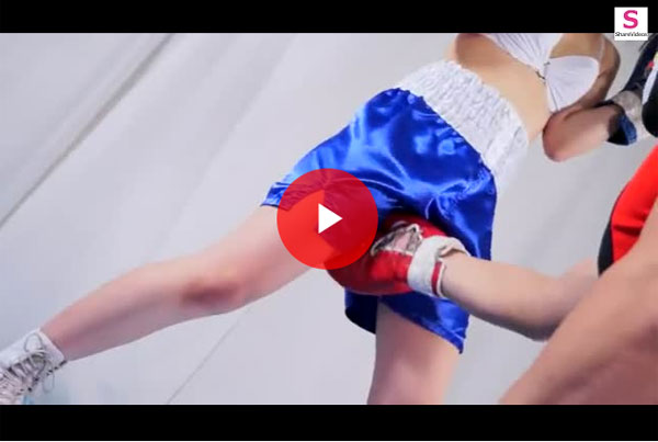 【エロ動画】ダウンでは終わらない!パンチと愛撫が攻撃手段のレズボクシング(;゚∀゚)=3 03