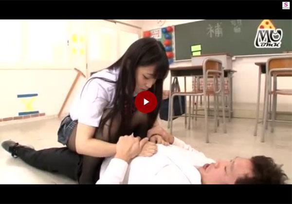 【エロ動画】こんないじめっ娘なら歓迎w肉杭好きな美尻JKの騎乗位(*゚∀゚)=3 03