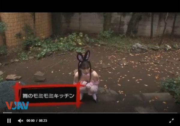 【エロ動画】自慢の美爆乳でご奉仕してくれるバニーさん!(;゚∀゚)=3 03