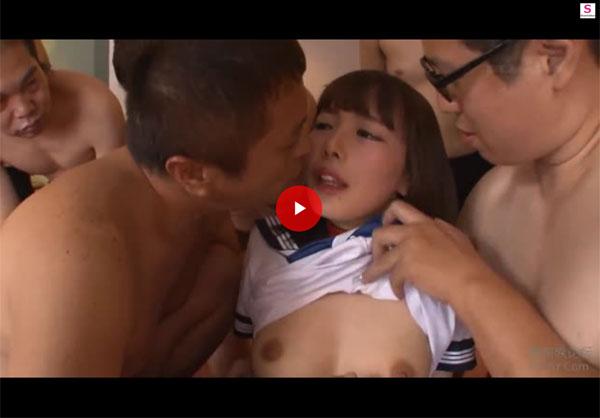 【エロ動画】禁欲明けから徹底的に中出し輪姦されまくる美少女!(*゚∀゚)=3 03