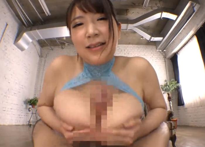 【エロ動画】激しい騎乗位の後はパイズリで抜いてくれる爆乳お姉さん!(*゚∀゚)=3 02