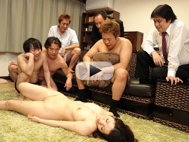 【エロ動画】家庭内で旦那の同僚に輪姦されまくる巨乳妻!(*゚∀゚)=3 03