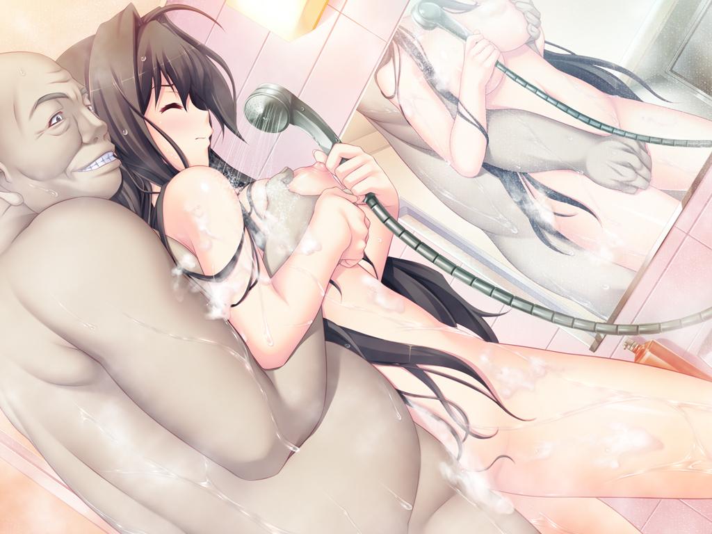 【二次エロ画像】若い娘には老練テクが効果的!?美少女をヤるオヤジ達(;^ω^)