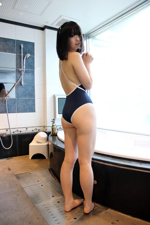 着たままハメたいヌク水・競泳水着のエロ画像 part56