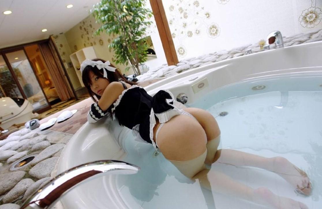 【メイドエロ画像】雇うなら伽までさせたいw従順エロメイドたち(;^ω^)