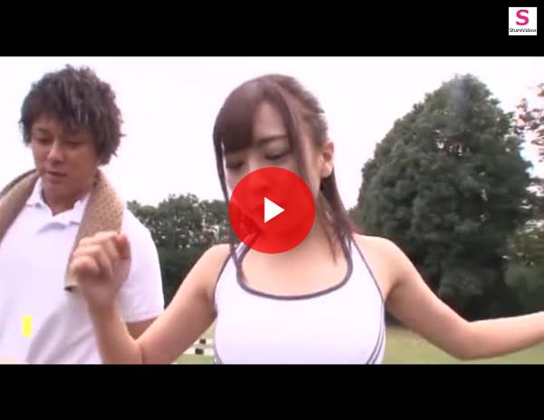 【エロ動画】ハミ尻で誘惑する陸上女子たちと合宿中に青姦!(;゚∀゚)=3 03