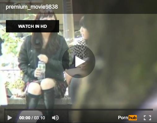 【エロ動画】都内で有名なパンチラスポットでミニスカ座り女子を監視!(;゚∀゚)=3 03