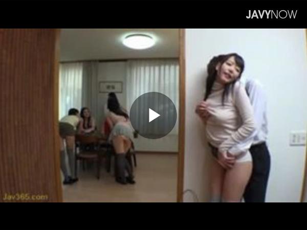 【エロ動画】スケベな若妻だらけの集まりはセクロスし放題!(;゚∀゚)=3 03