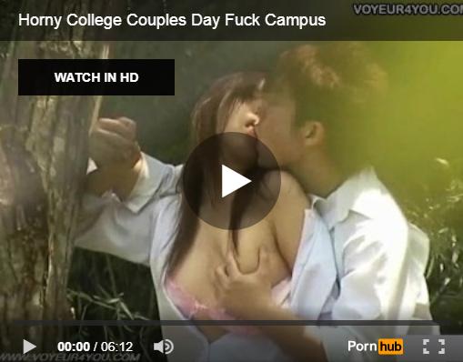 【エロ動画】彼氏と昼間から青姦やらかしている巨乳JKを発見!(;゚∀゚)=3 03