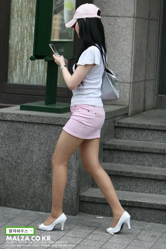 股間が正直になる韓国街ギャルのエロ画像 part6
