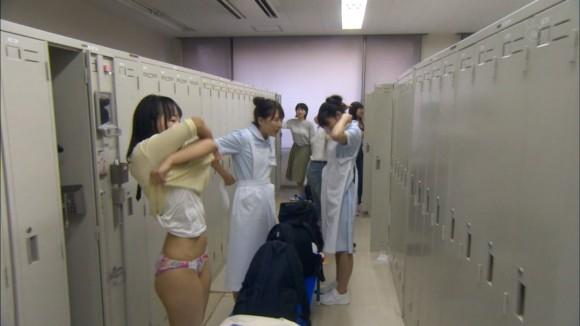 医療ドラマで一瞬映った女子の更衣室