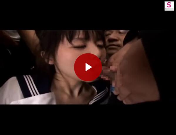 【エロ動画】痴漢だらけのバスの中でただ犯されまくるだけのつぼみ!(;゚∀゚)=3 03