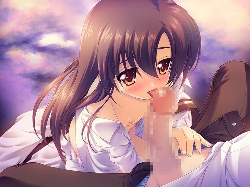 【二次エロ画像】可愛いのに積極的に男根を舐めしゃぶる美少女たち!(;・∀・)