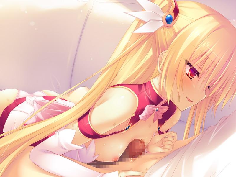 【二次エロ画像】密着して擦れば巨乳に匹敵!?貧乳美少女のナイズリ(;^ω^)