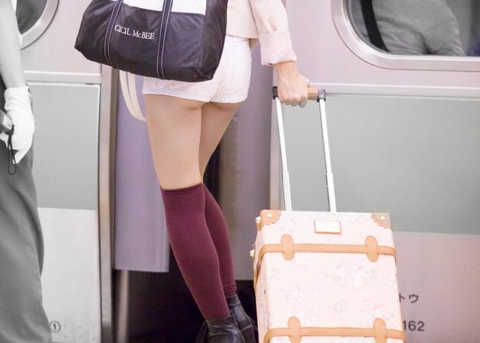 【着尻エロ画像】普段着なのにさりげなくハミ尻かました一般人!(;^ω^) | 可愛いエロ画像盛り沢山! 表紙