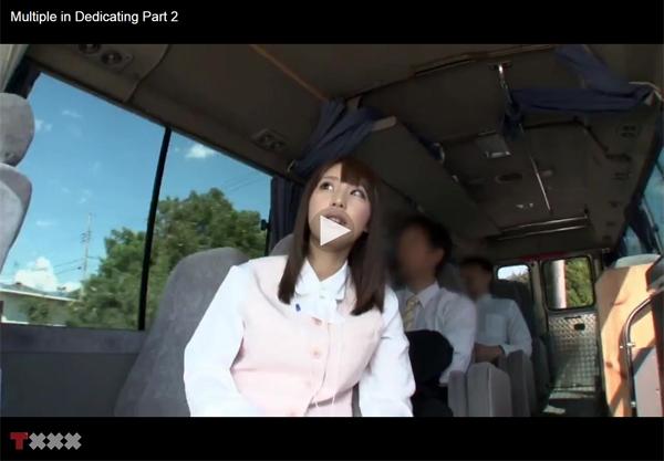 【エロ動画】フライトから温泉までイヤらしくもてなしてくれる痴女集団!(;゚∀゚)=3 03