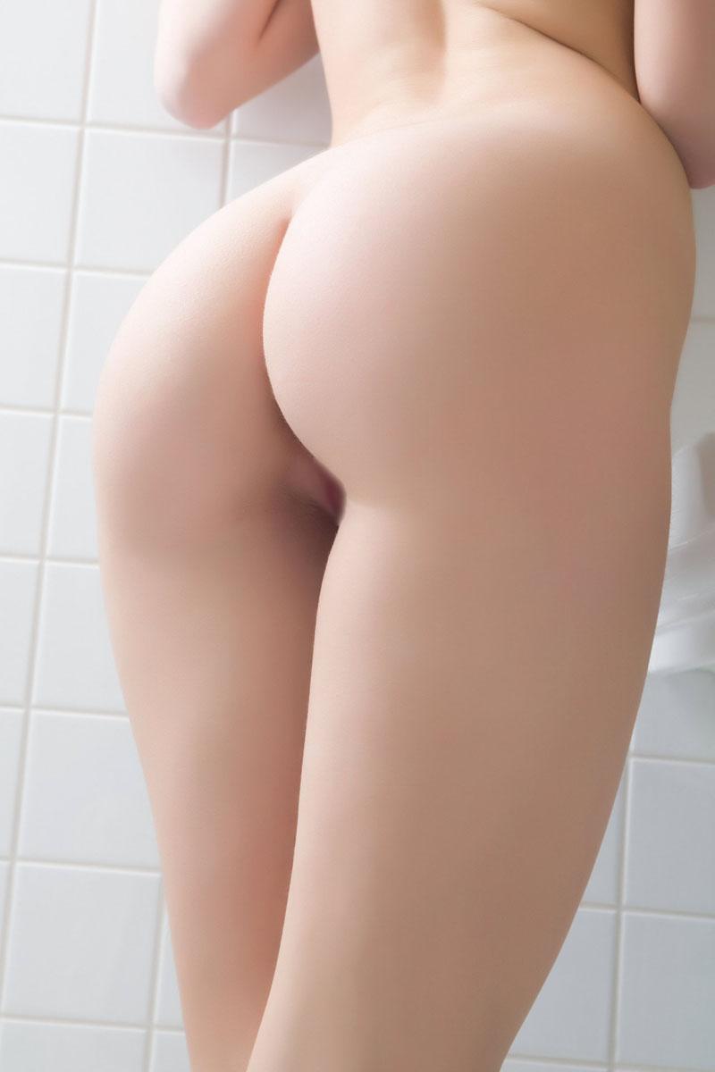 【美尻エロ画像】墨塗って拓を取ってみたくなるほど美麗な生尻!(;´∀`)