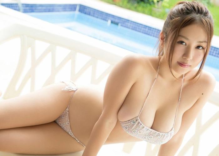 ムッチリIカップ西田麻衣のエロ画像