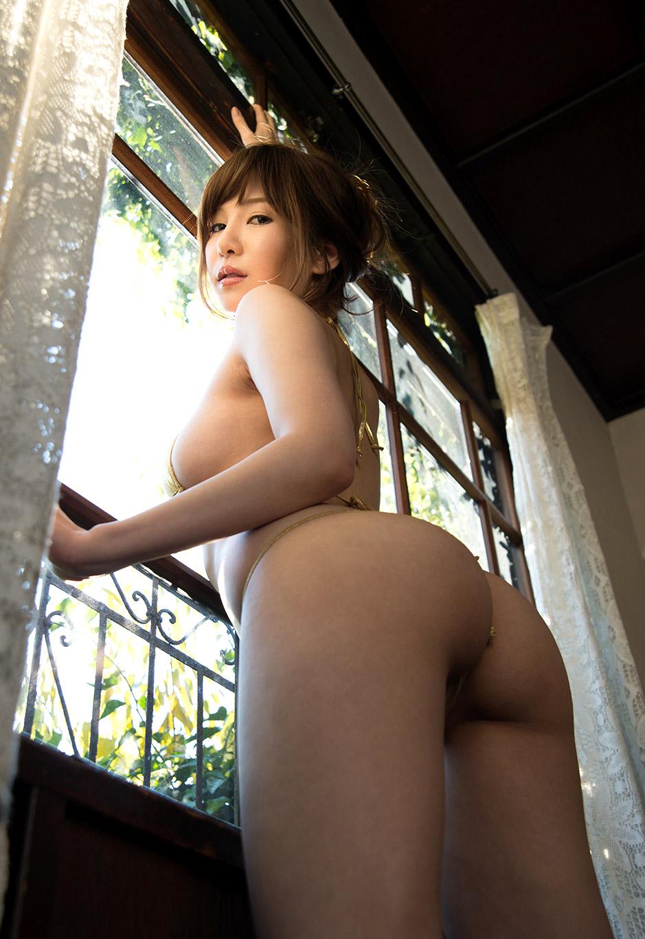 【葵エロ画像】絶品ボディお姉さん!Hカップ美巨乳が溜まらん美女・葵(;´∀`)