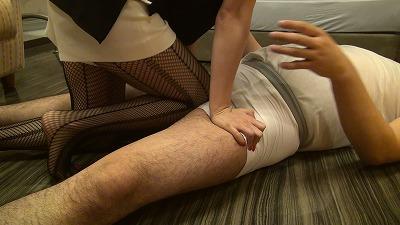 【電気あんまエロ画像】男は苦でしかない電気アンマを女が受けたらこうなるwww