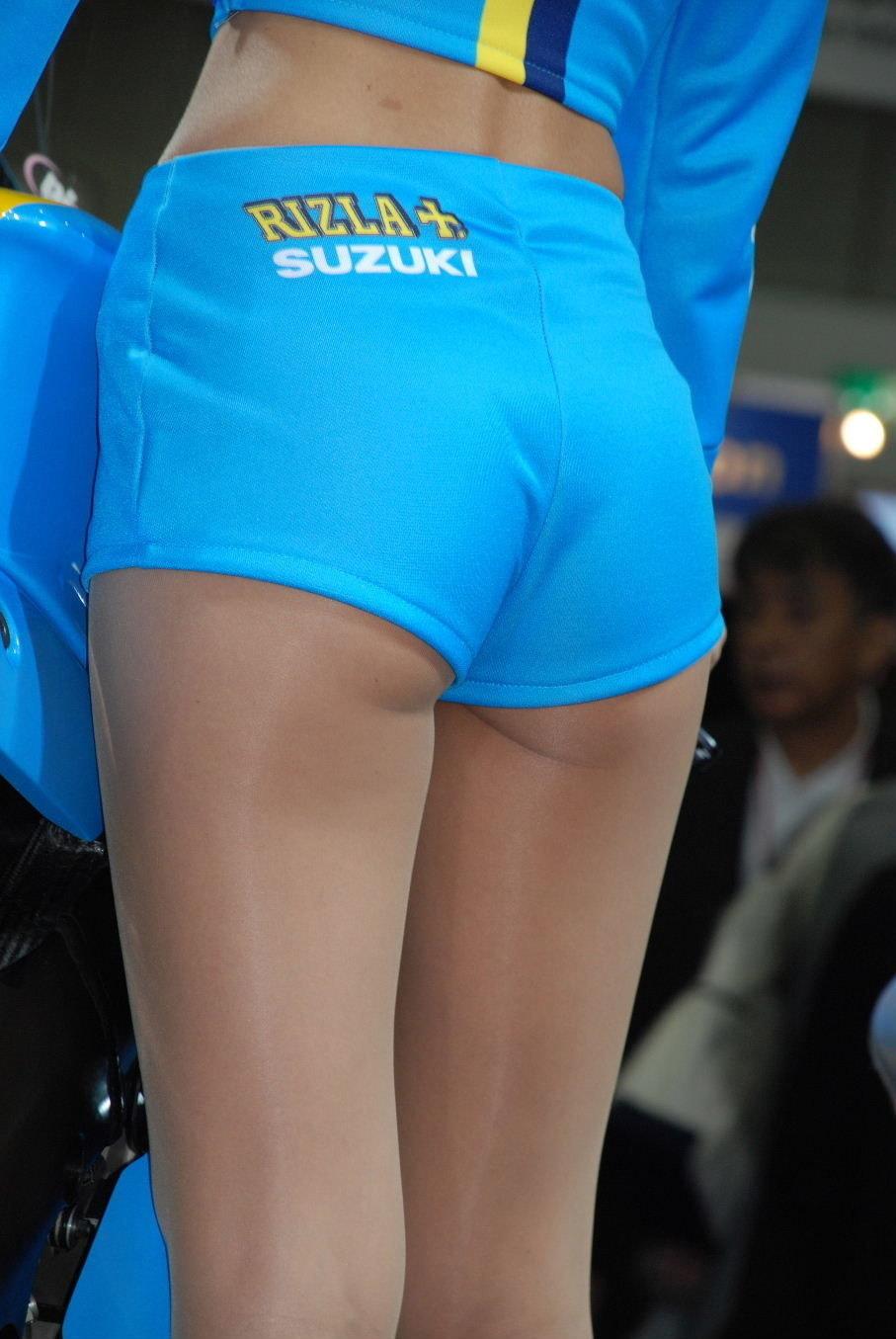 【キャンギャルエロ画像】イベントの主役!絶品ボディなキャンギャルたち(;^ω^)